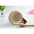 Nueva taza de cerámica de la buena calidad 2016 de la llegada con la cuchara