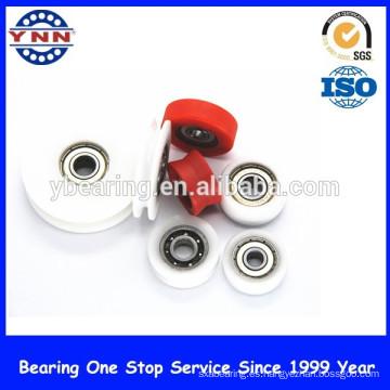 Rodamiento de bolitas profundo miniatura del surco del rodamiento de bolitas del plástico de la alta precisión del proveedor chino