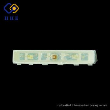 La pleine couleur 020 vue latérale 6 bornes 4508 RVB SMD LED pour des arrière-plans menés