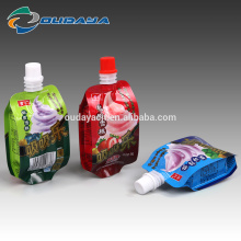 Side Gusset ice cream pouch /popsicle packaging bag/plastic bag ice