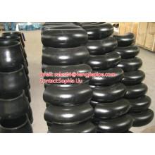 coude de raccords sans soudure en acier au carbone BW