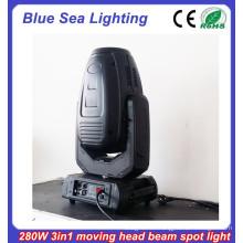 2015 Nuevo 10R 280w 3in1 cabeza que se mueve la iluminación del escenario