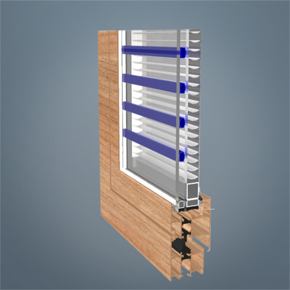 Aluminum Fixed Windows with Shutter