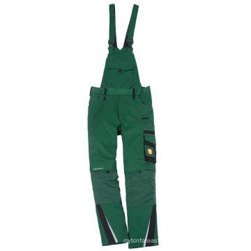 Moda personalizada babero monos hombres trabajo pantalones