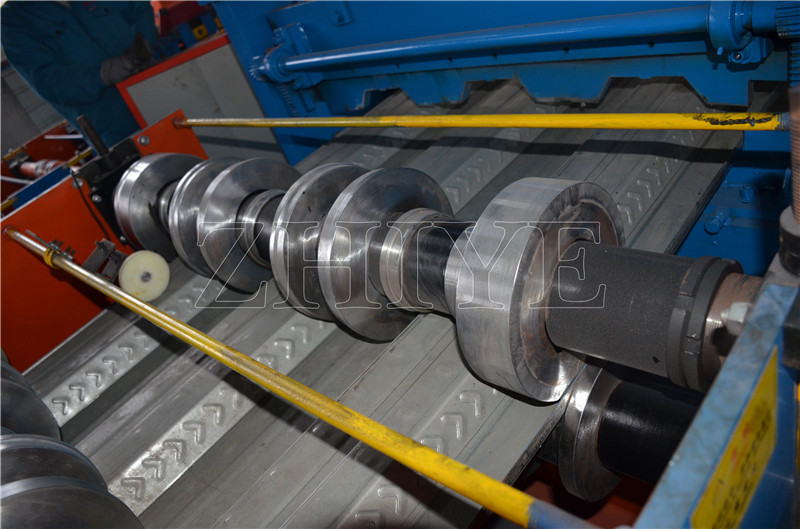 Podłogi Decking Sheet Rolling Forming Machinery