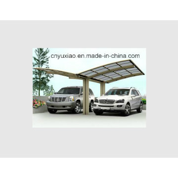 Навес для автомобиля из высококачественного стального каркаса