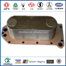 hot sale diesel engine oil cooler radiator C3966365 for dongfeng truck parts made in China on alibaba