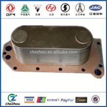 Горячая распродажа дизельный двигатель масляный радиатор радиатора C3966365 для частей грузовика dongfeng сделано в китае на alibaba