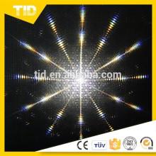 Etiqueta reflexiva do PVC para a luz do efeito do disco do estágio do diodo emissor de luz do starball