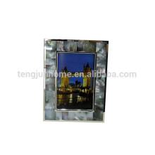 Cadre photo acrylique noir MOP pour décoration maison