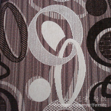 Жаккарда Снежка Покрашенная Пряжа Синеля полиэфира ткани для домашнего текстиля