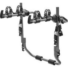 鋼の自転車荷台
