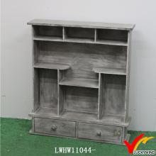 Corner Vintage Old Wooden Küchenschränke Spice Racks