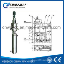 Tfe High Efficient Energy Saving Factory Price Wiped Rotary Vacuum Used Engine Oil Used Cooking Oil Recycling Machine