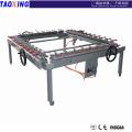 Diseño de la fábrica de China y hizo precio más bajo alta precisionTX-LW1216 malla que estira la máquina