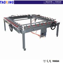 Diseño de la fábrica de China e hizo precio más bajo alta precisionTX- LW1212 malla que estira la máquina