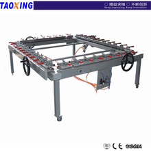 china factory design and made lower price high quality TX- LW1616 mesh stretching machine