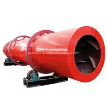Máquina secadora rotativa para fertilizante Lodo de limo de carbón