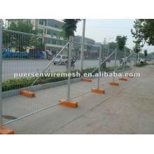 Metal mobile temporary fence manufacturer