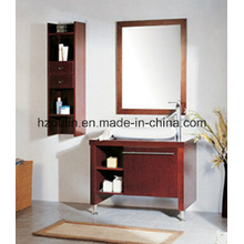 Modern Wooden Bathroom Vanity (BA-1137)
