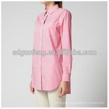 Tecido de popelina spandex 40s para camisas 40 * 40 + 40D 133 * 72