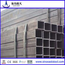 Tuyau d'acier noir à section creuse