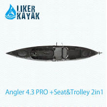 Stabile Qualität LLDPE / HDPE Plastikfischen-Kajak-Fabrik Soem / ODM vorhanden
