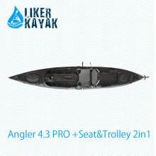 Стабильное качество LLDPE / HDPE пластиковые рыбалка Kayak завод OEM / ODM Доступные