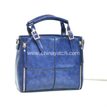 PU Lady Hand Bag with Velvet Lining