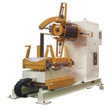 Línea de alimentación motorizada de la máquina de decoiler hidráulica