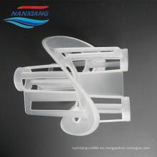 Embalaje plástico del anillo de Heilex de los PP de alta calidad usado en el tratamiento de aguas