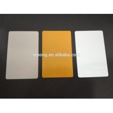 Fabricants de colorants blancs sublimation blanc métal 650x400mm