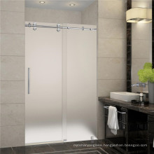 Guangdong acid etched glass price frosted glass door panels etched glass for shower door