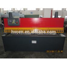 Machine de cisaillement de guillotine en acier inoxydable qc11y-6x3200