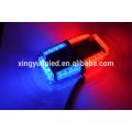 12v 24V led Mini light bar 24w for police used red blue warning signal beacon mini lightbar