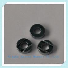 Cinc/niquelado de imanes de anillo de neodimio permanente