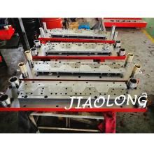Matrices de découpe de tôle de fer-blanc de défilement Matrices de découpe de métal avec coupeur de carbure sur machine de dévidoir Hengli