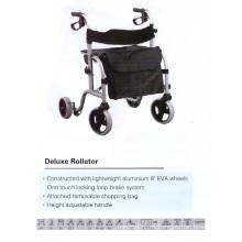 De lujo de la moda de peso ligero Alumium Rollator