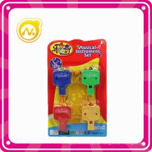 Los nuevos niños más calientes de plástico mini juego de juguetes divertidos Whistle