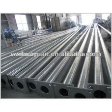 zinc plated steel columns