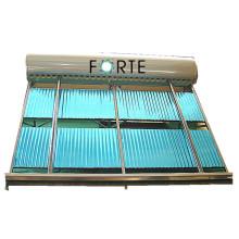Colector termal solar del tubo de vacío de la alta eficacia 20 tubos