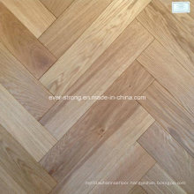 Herringbone Wooden Parquet Oak Engineered Wood Flooring
