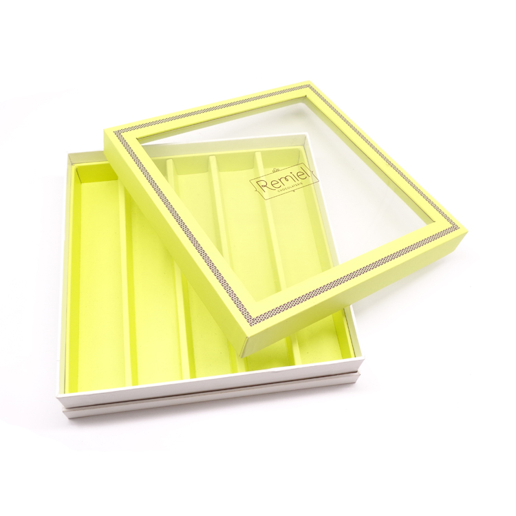 Base And Lid Gift Box With Clear Window