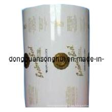 Película de embalaje de té laminado / Película de plástico de rollo de té / Película de té