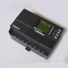 Sr-22mrdc DC12-24V Entrada DC de 14 puntos Controlador PLC de salida de relé de 8 puntos Controlador lógico programable PLC