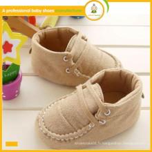 Fabricant chinois dans Ningbo 2015 vente en gros de haute qualité hiver chaud enfants chaussures de bébé
