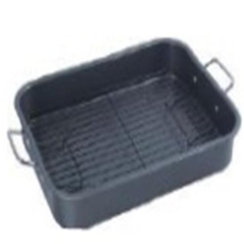 All-Clad Stainless Steel Roasting Pan with Rack and Handles