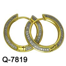 Nuevos modelos de pendientes de cobre de la joyería Huggies con precio competitivo de la fábrica