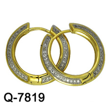 New Model Copper Jewelry Earrings Huggies with Factory Competitive Price