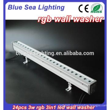 Высококачественное светодиодное освещение 24x3w